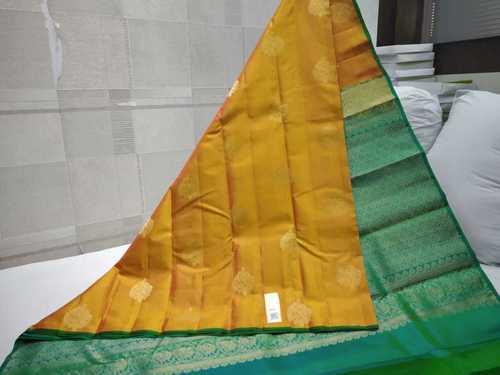 Pure Silk Kanchipuram Thunread Weaving