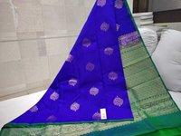 Pure Kanchipuram Thunread Silk Saree