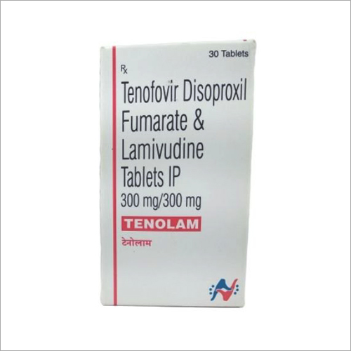 300 MG Tenofovir Disoproxil Fumarate And Lamivudine Tablets IP