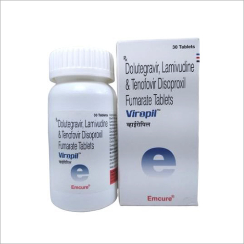 Dolutegravir, Lamivudine And Tenofovir Disoproxil Fumarate Tablets