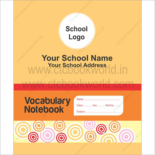 Vacabulary Note Book