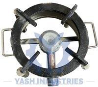 10 x 10 Stainless Steel Gas Bhatti Round