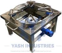 12 x 12 Stainless steel Gas Bhatti Ring Kada
