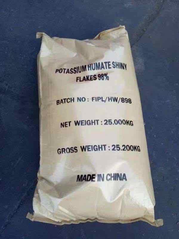 Super Potassium F Humate Shiny Flakes