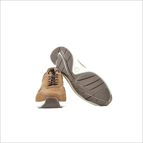 genuine leather men sport shoes
