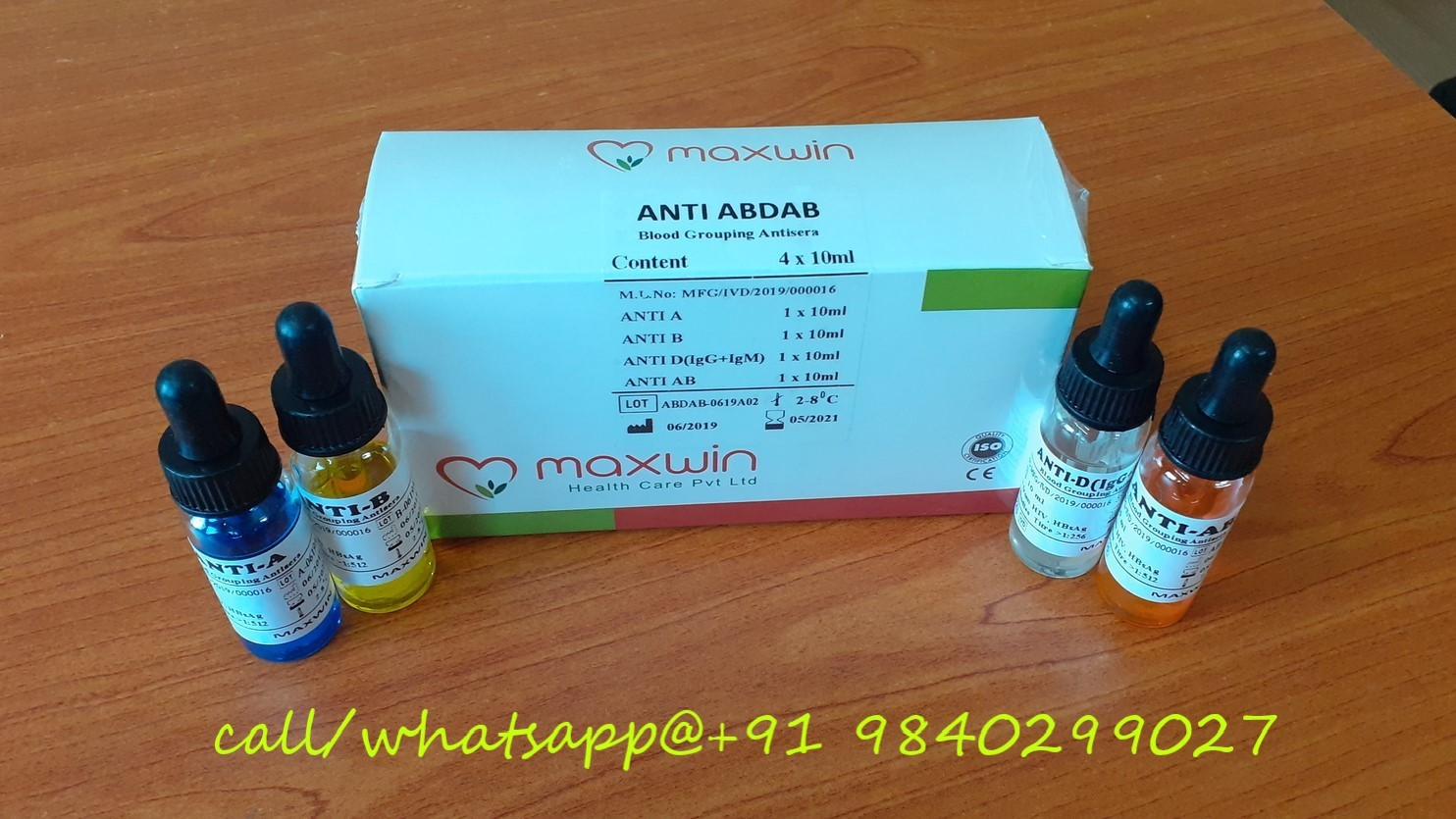 ANTI ABO Monoclonal Blood Grouping Reagents