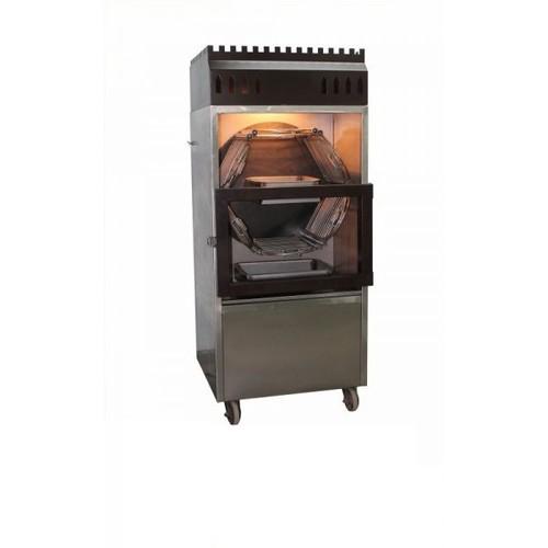 Al Faham鸡烤肉机器自动自转