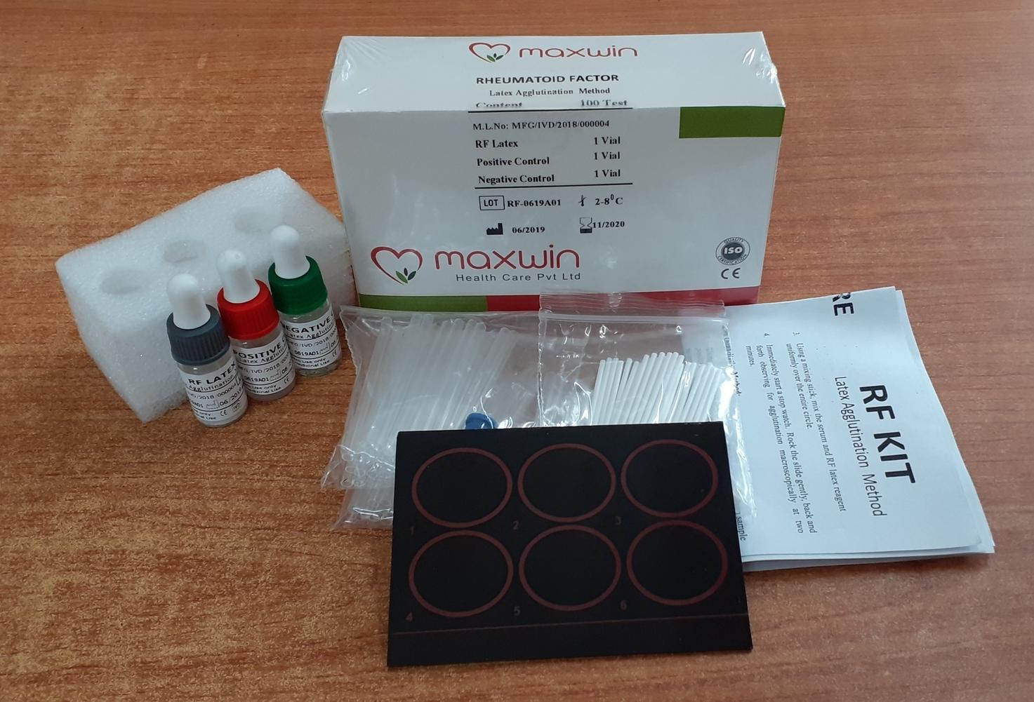RF Latex Test Kit