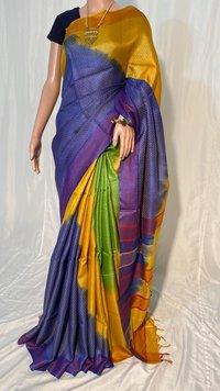 Tussar Silk Handloom Full Weaved Saree