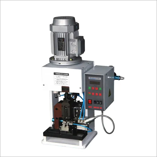 Cable Wire Terminal Stripping Crimping Machine