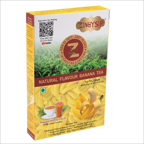 100 gm Zingysip Instant Banana Tea