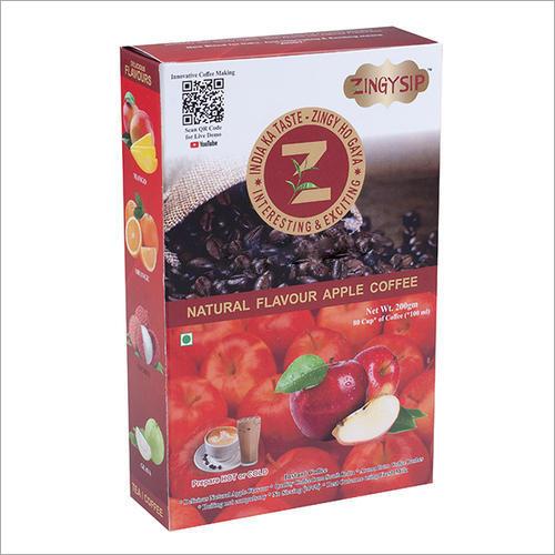 Organic 100 Gm Zingysip Instant Apple Coffee