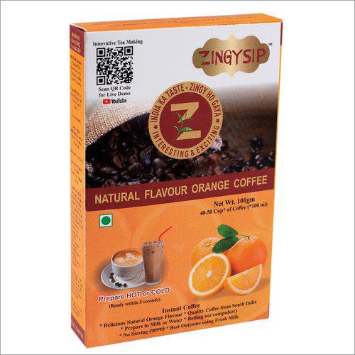 100 gm Zingysip Instant Orange Coffee