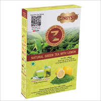 100 gm Zingysip Natural Green Tea With Lemon