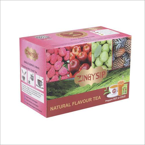 Zingysip Fruit Combo Tea -Litchi Apple Guava Pineapple