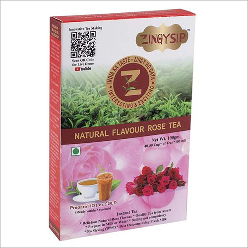 100 gm Zingysip Instant Rose Tea