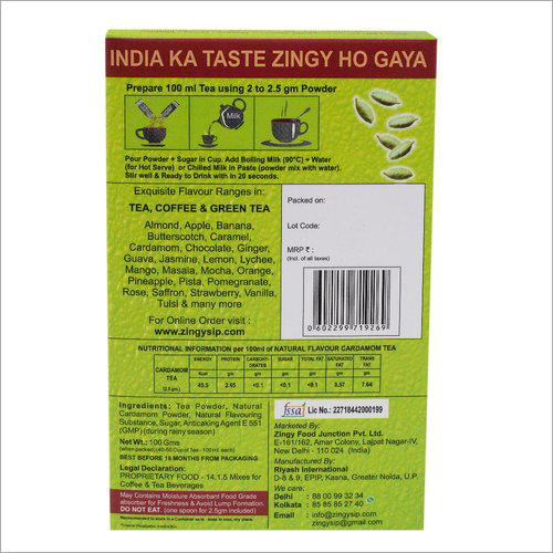 100 gm Natural Flavour Cardamom Tea
