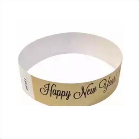 Custom Fashionable and Disposable Wristband