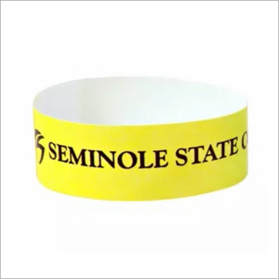 Custom Fashionable Wristband with Black Logo