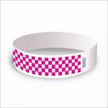 Customized Stretch and tear Resistant Disposable Printed Wristband