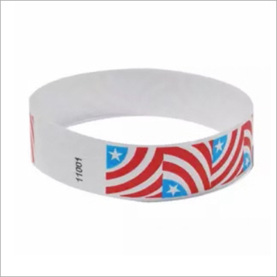 Promotional Stars & Stripes Event Wristband