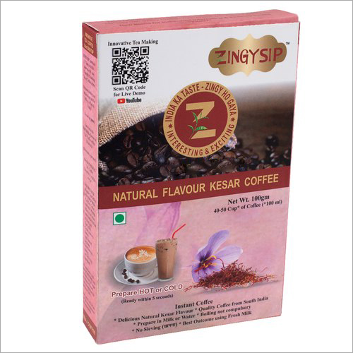 100 gm Zingysip Instant Kesar Coffee