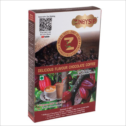 100 gm Zingysip Instant Chocolate Coffee