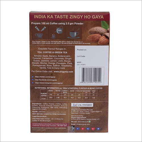 100 gm Zingysip Instant Almond Coffee