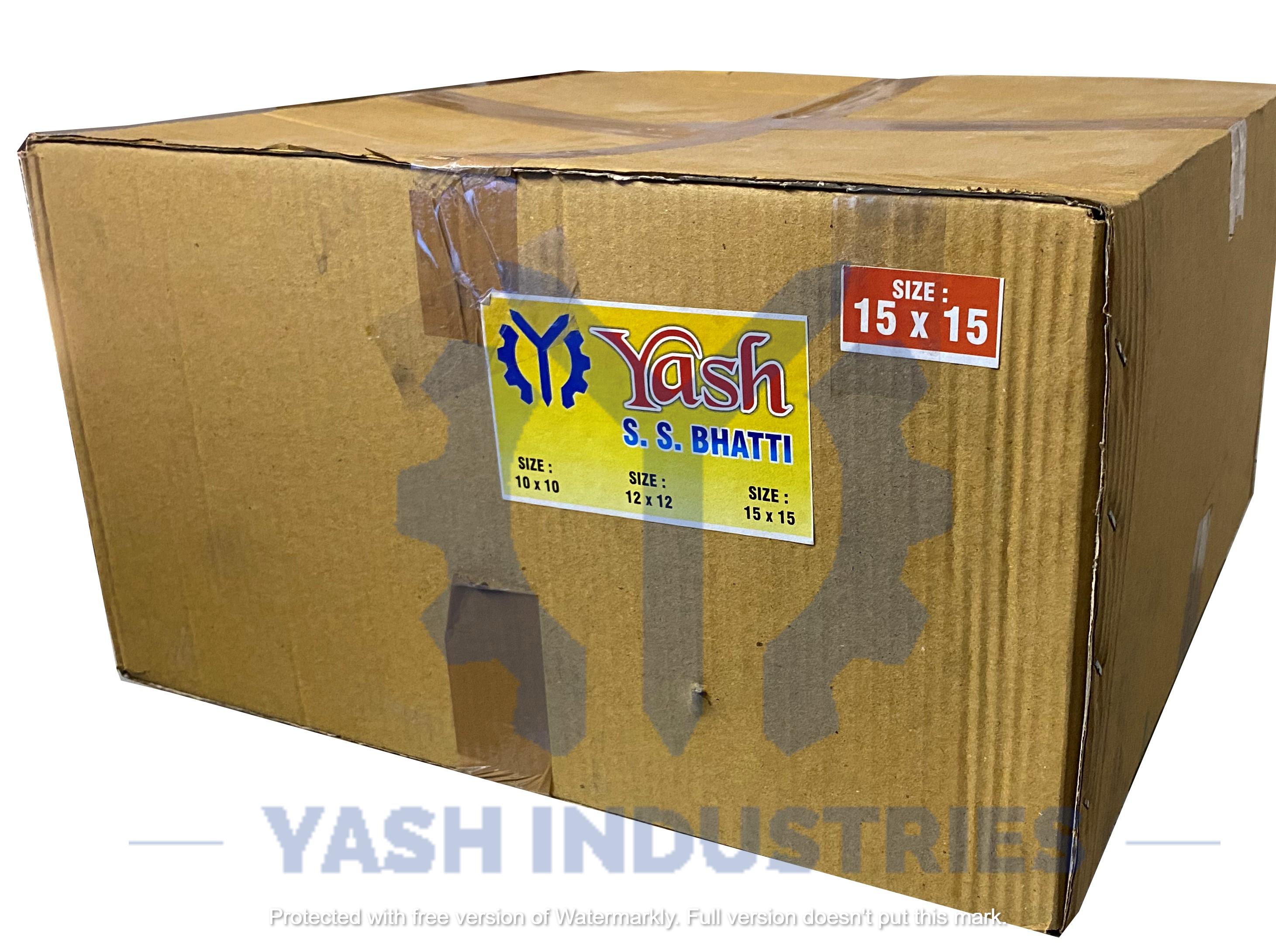 15 x 15 Stainless Steel Gas Bhatti