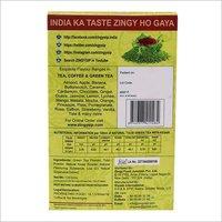 100 gm Zingysip Premium Green Tea - With Tulsi And Kesar