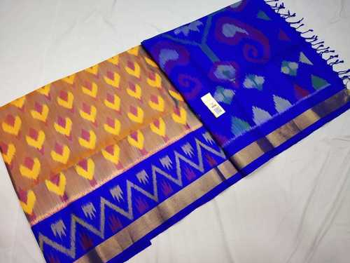 Pure Silk Ikkat Design