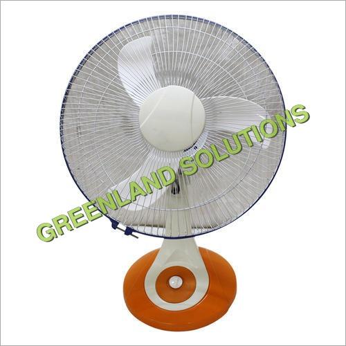 Solar DC Oscillating Table Fan