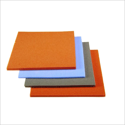 Multi Color Rubber Sheet