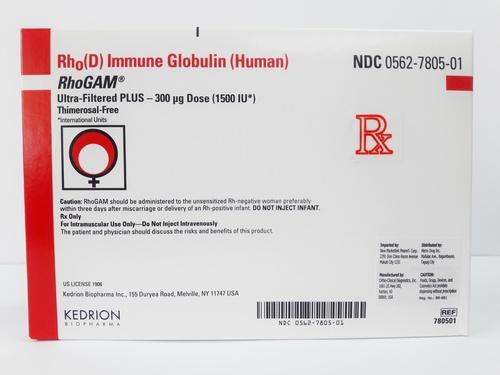Rhogam Immune Globulin