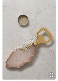 Rose Quartz Agate Opener