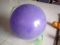 Green,White PVC Ball Packaging Net