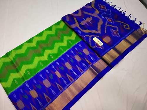 Pure Kanchipuram Ikkat Design