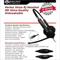 Vertex Voice HD RJ HeadSets