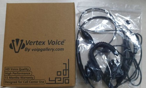 Vertex Voice High Defination RJ HeadSet with Controller