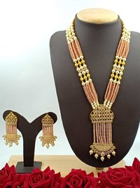 Moti Rani Haar Necklace With Earrings