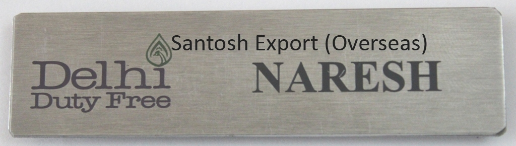 Company Name Badge