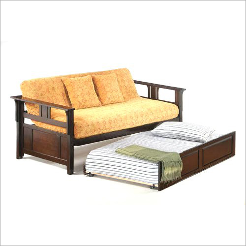 Modern Wooden Sofa Cum Bed