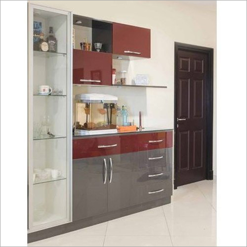 Kitchen Wooden Crockery Unit