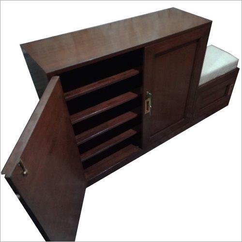 Modular Wooden Shoe Rack