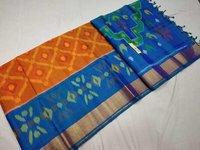 Pure Kanchipuram Ikkat Silk