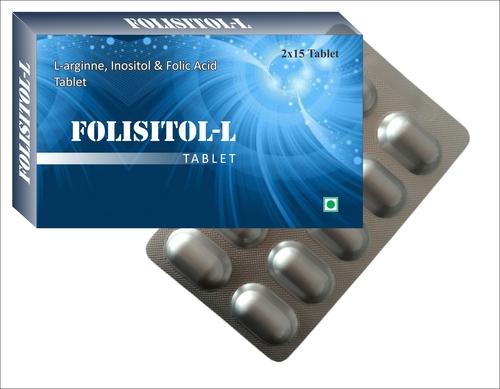 L- Arginine, Inositol And Folic Acid Tablets