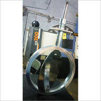 Valve Butterfly for Annealing Furnace Flue Gas Pipe Line