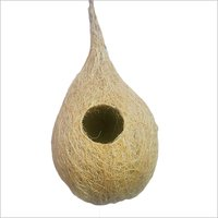 Coconut Shell Bird Nest