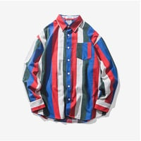 Mens Stripes Shirt
