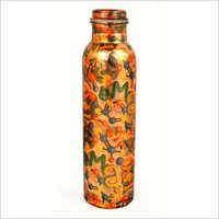 Alpha Print Copper Bottle